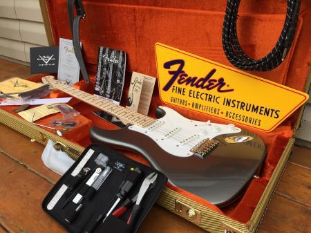 2014 Eric Clapton Signature Fender Strat Custom Shop Pewter