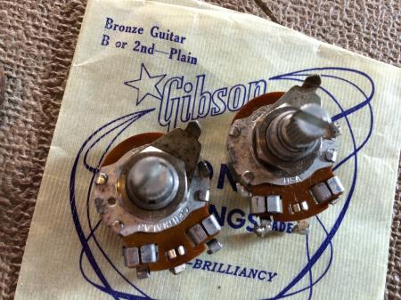 Dating gibson pots