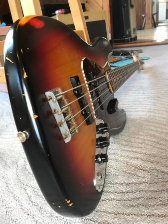 1960 Cunetto Relic Early 1996 Fender Jazz Bass With All Case Candy