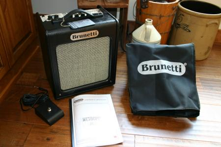 Brunetti Metropolitan 10W (with EL84 tubes) AB class Italy Made Amp
