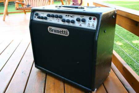 Brunetti MC2 Combo 60 Watt Tube Amp made in Italy