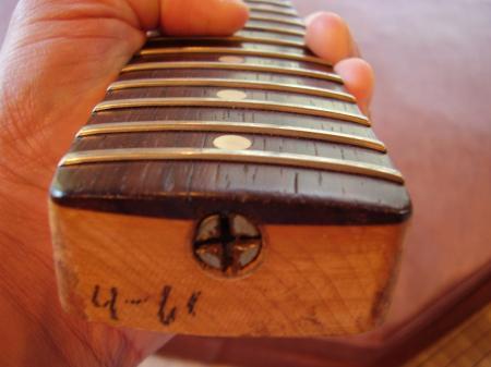 Fender Stratocaster Neck >> 1961 Original Slaboard Fender Pre CBS Stratocaster Neck