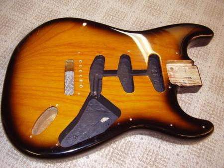 1958 Custom Shop 1997 Made Cunetto Relic Fender Strat Body