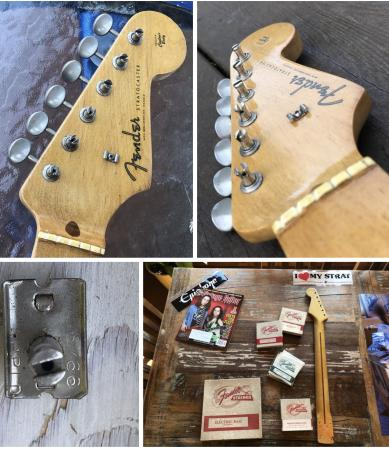 1957 Fender Stratocaster Neck With Tuners