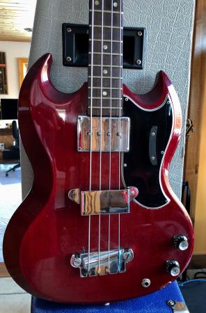 1964 ORIG GIBSON EB-0 BASS Excellent Vintage Investment
