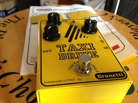 Brunetti Taxi Drive Booster / Overdrive in Stomp Format