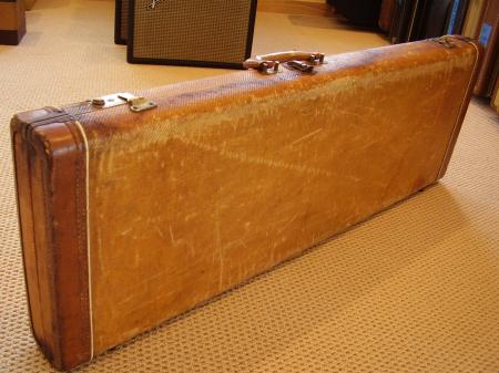 1956 original tweed fender stratocaster case. Black Bedroom Furniture Sets. Home Design Ideas