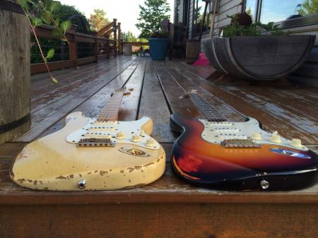 1996 & 1997 Cunetto 1957 & 1960 1st and 2nd year Custom Shop Relic Stratocaster