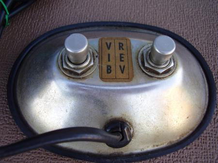 Silver Face Amp 1960s Fender Foot Switch