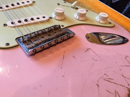 1962 Shell Pink KILLER Super Relic Fender Stratocaster USA