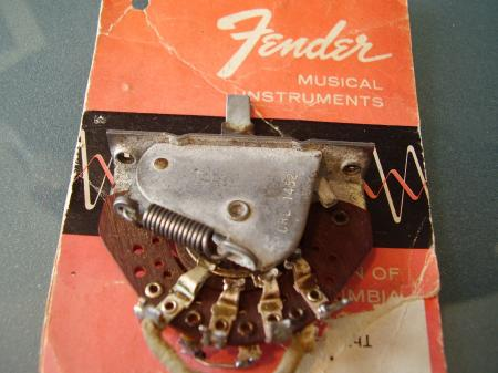 1955 ORIG NICE FENDER STRAT 3 WAY SWITCH