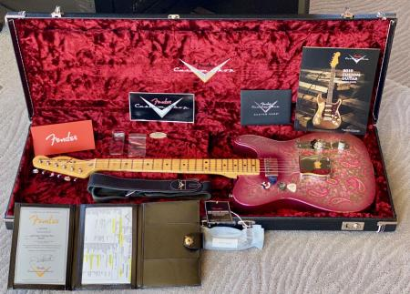 1968 Paisley Fender Tele Jason Smith Materbuilt Relic