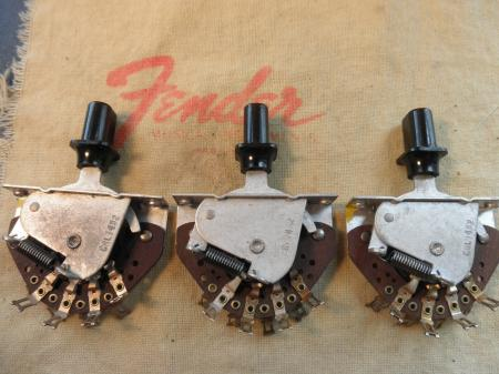 1953 to 1962: CRL 1452 3-way switch Fender Strat & Tele