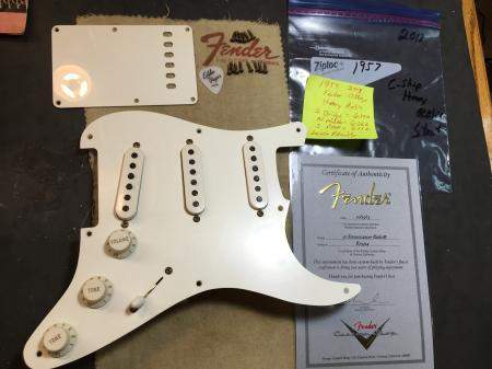 1957 2013 Heavy Relic Fender Stratocaster Custom Shop Pickup Assembly