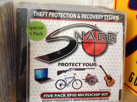 Fender Gibson SNAGG 5 Microchip Trackable If Your Guitar Gets Stolen