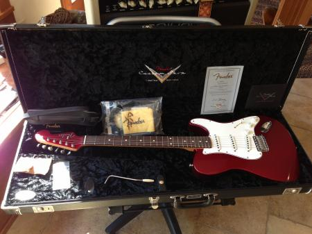 Limited Edition Master Built NEW Tele / Strat Fender Custom Shop ONLY 100 Ever Made