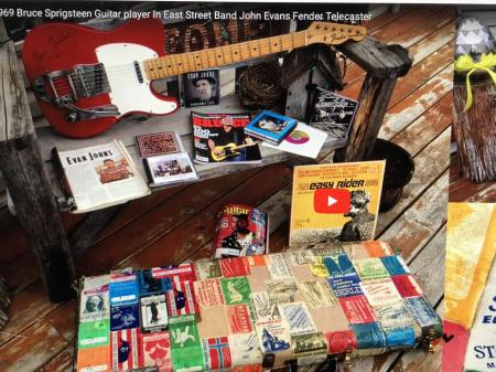 1969 Fender Telecaster Evan Johns Owned & Recorded & Toured While In Bruce Springsteen Band & Been On TV Pawn Stars
