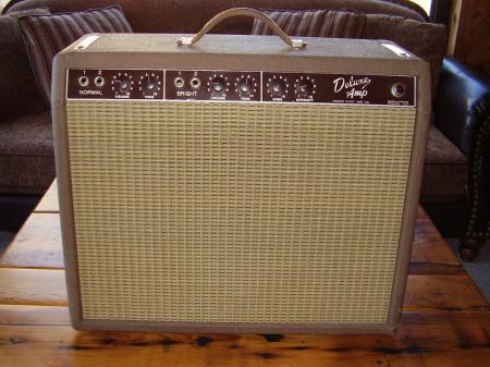 1961 Orig Fender Deluxe Amp