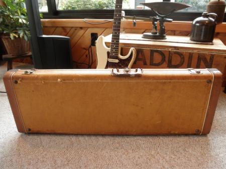 Fender Guitar Cases Vintage : 1956 orig tweed fender stratocaster vintage case ~ Hamham.info Haus und Dekorationen