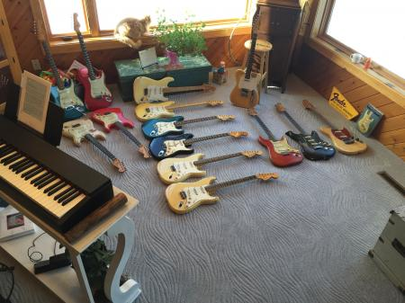 1961 to 1970 Orig Fender Custom Color Stratocaster