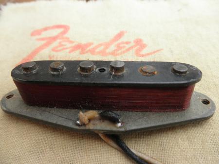Fender Mustang Pickups : 1966 orig fender mustang pickup made for strat ~ Vivirlamusica.com Haus und Dekorationen