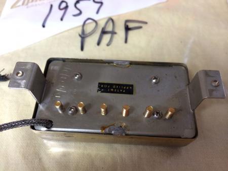 1959 Orig PAF Gibson Les Paul ES 335 Byrdland Neck Pickup 8 08k
