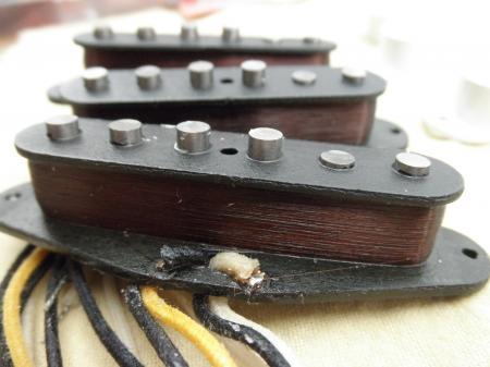 1962 Srv Texas Special Made Fender Custom Shop Strat Pickups