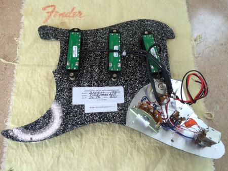 Seymour Duncan Fender USA Fender Strat Humbucker Pickup Assembly