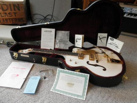 SALE 2011 NOS Gretsch G6136T White Falcon You Be 1st Owner!