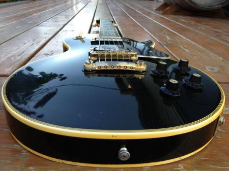 1973 ORIG GIBSON LES PAUL CUSTOM Black Beauty