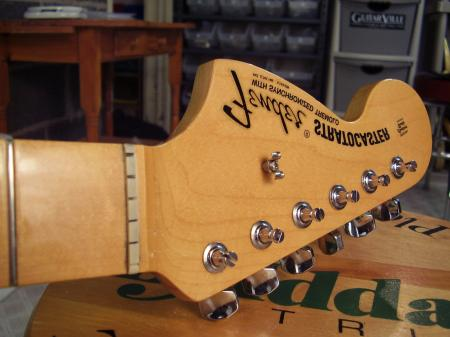 Jimi Hendrix 1997 Usa Fender Strat Maple Cap Neck