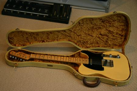 1951 nocaster tweed c shop fender tele case. Black Bedroom Furniture Sets. Home Design Ideas