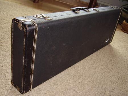 Fender stratocaster case