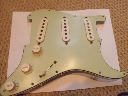 1959 Limited Edition Rockin Dog Fender C-Shop Strat Assembly