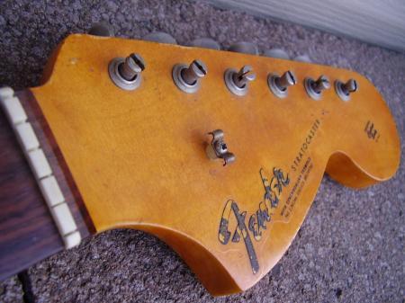 1966 Original Fender Stratocaster Vintage Neck