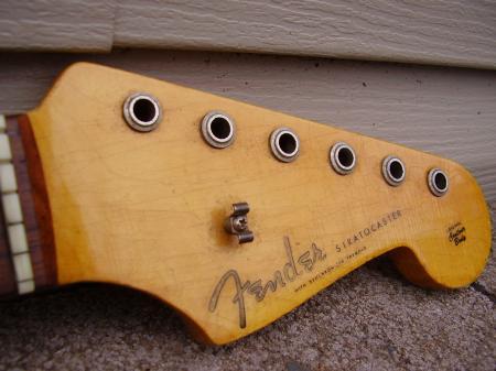 Fender Stratocaster Neck >> 1960 Orig Fender Stratocaster Vintage 3 60 Strat Neck