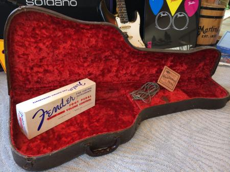 1953 to 1954 Original  Fender Strat or Tele Poodle Case