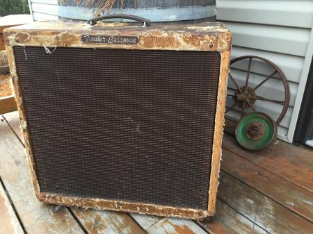 1959 Orig Fender Bassman Amp Blues Heaven!