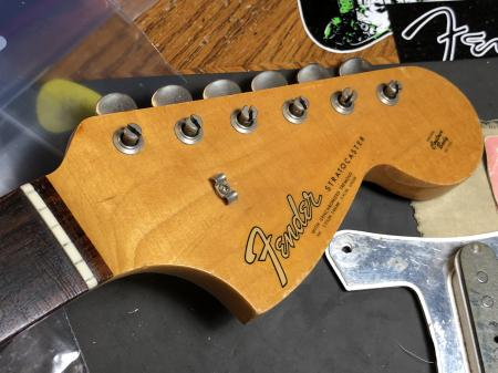 1966 FENDER STRAT NECK Cleanest On Earth
