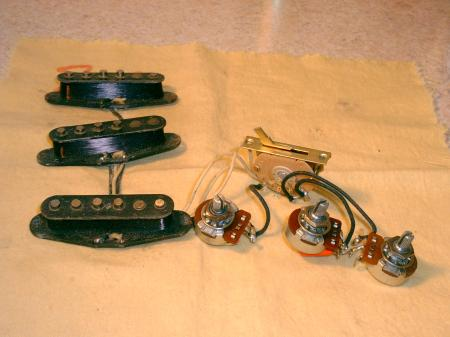 dating fender pickups and pots