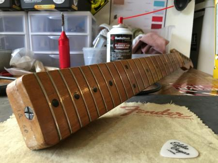 1956 Original 12-56 Fender Esquire 100 Percent Neck FAT V Profile