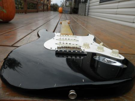 1956 Black Relic Made for Jeff Beck Fender Strat....NEAT!