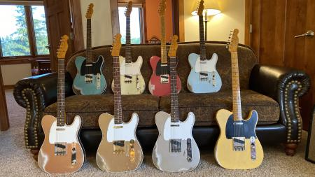 1952 Thru 1964 Fender Custom Shop 12 Brand New Strat and Tele Just In