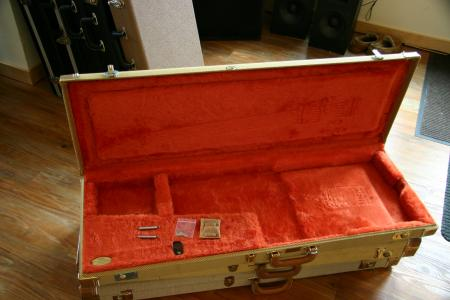 1957 Custom Shop Tweed Strat/Tele Case