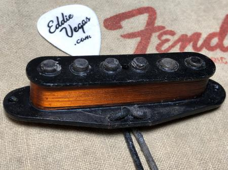 1962 Original 100 Percent Fender Strat Neck Pickup 5.91K