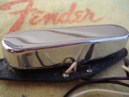 1968 orig fender telecaster neck pickup. Black Bedroom Furniture Sets. Home Design Ideas